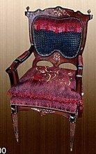 Barock Armlehner Sessel Rokoko Antik Stil MoCh0900