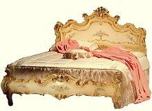 Barock Bett Bed Lit Letto Venetian Vénitien Barocco Vp7761-S