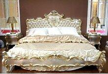 Barock Bett Bed Lit Letto Venetian Vénitien Barocco Vp7762-S