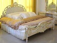 Barock Bett Doppel Bett 180x200 aus Schlafzimmer Antik Stil Vp7742Q