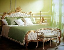 Barock Bett Single Bett 120x190 Schlafzimmer Antik Stil Vp7723/S