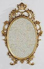 Barock Bilderrahmen Barock Gold Oval Antik mit