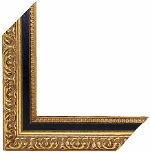 Barock Bilderrahmen ZEUS 60x90 oder 90x60 cm in