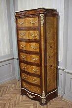 Barock Kommode Schrank LouisXV Antik Stil MkSm0089
