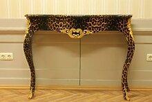 Barock Konsole Tisch Schlag Gold Antik Stil Kolonialstil AlKs0002Leo