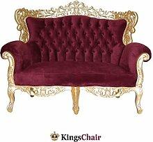 Barock Möbel Barock Sofa Grande 2 Sitzer