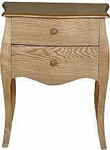 Barock Möbel Kommode Nachttisch Easygo 60 braun