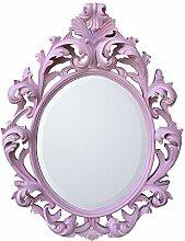 Barock pink abgeschrägten Spiegel