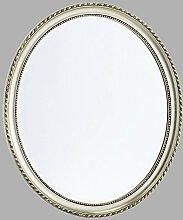 BAROCK RAHMEN FACETTENSPIEGEL 70x60 cm von XTRADEFACTORY Spiegel Wandspiegel Antik silber