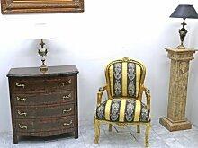 Barock Sessel Antik Stil LouisXV Rokoko AlSe0307 antik Stil Massivholz. Replizierte Antiquitäten von LouisXV Buche (Ahorn, Mahagoni, Eiche) Antikmessing Beschläge, furniert, intarsier
