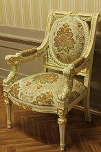 Barock Sessel Antik Stil Rokoko Vp8856/01ACD