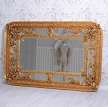 Barock Spiegel Goldspiegel Fcettenschliff Wandspiegel Antik Gold Palazzo Exklusiv