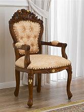 Barock Stuhl mit Armlehnen Allison Englischer Stil