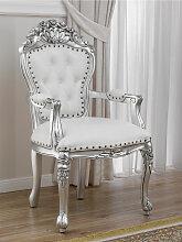 Barock Stuhl mit Armlehnen Allison Moderner Stil