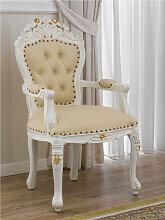 Barock Stuhl mit Armlehnen Allison Stil Decape