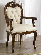Barock Stuhl mit Armlehnen Amalia Englischer Stil
