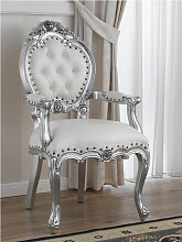 Barock Stuhl mit Armlehnen Nathalie Moderner Stil