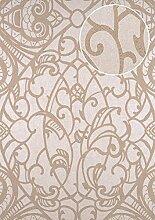 Barock Tapete ATLAS CLA-597-6 Vliestapete geprägt