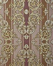 Barock-Tapete EDEM 580-34 Hochwertige geprägte