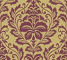 Barock Tapete | Vliestapete Ornamente Barock