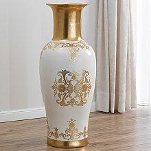 Barock Vase mit Griffen Soledad Blumenvase Antik