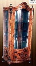 Barock Vitrine Rokoko Antik Stil Schrank Louis XV MoAl0009go