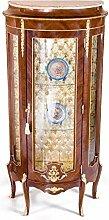 Barock Vitrine Rokoko Antik Stil Schrank Louis XV