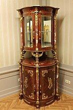 Barock Vitrine Rokoko Antik Stil Schrank Louis XV MoVi0238Br