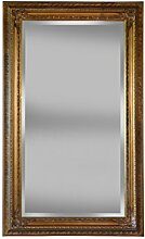 Barock Wandspiegel gold 120x200cm