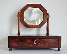 Barocker Tischspiegel aus Nussholz, 1780er