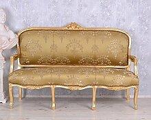 Barockes Sofa Salon Sitzbank Barocksofa Antik Stilmöbel Rokoko