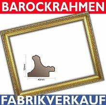 Barockrahmen, Goldrahmen 986 ORO 60x90 cm