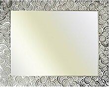 Barockrahmen silber fein verziert 585 ARG, Spiegel