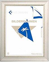 Barockrahmen weiß fein verziert 246 BIA,