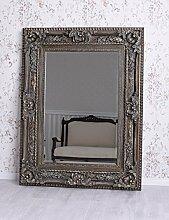 Barockspiegel Silber Spiegel Barock Wandspiegel Flurspiegel Badspiegel Palazzo Exklusiv