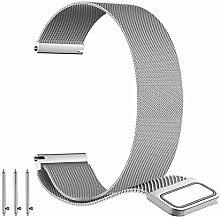 BarRan Garmin Forerunner 645 Armband, Edelstahl