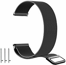 BarRan Garmin Vivomove HR -20 Armband, Edelstahl