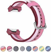 BarRan reg; Fitbit Ionic Armband, gewebtes Nylon