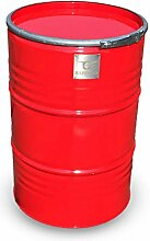 BarrelQ Big Spectrum Inferno Red Grillfass aus