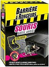 Barriere A Nagetiere Köder. Maus. 1boîte Box Köder Maus–Schutzhülle 1Box von appâtage, schwarz, 9x 5x 13cm