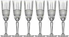 Barski, Champagnerflöten, 6 Stück