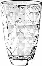 BARSKI europäischen Glas für Vase, 24,1cm H,