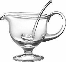 Barski - Glas – Sauciere mit Schöpflöffel –