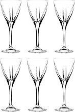 Barski Likörglas mit Stiel, 6 Gläser,