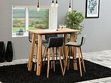 Bartisch Stehtisch Bistrotisch Tisch Holz Esstisch
