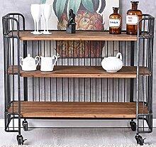 Barwagen Loft Servierwagen Dinett Teewagen Minibar