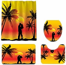 Bascar Badewanne Vorhang, Teppich Fashion