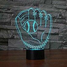 Baseball Handschuh Licht 7 Farbe Ersatzlampe Lampe