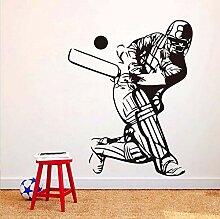 Baseball-Spieler Skizze Wandkunst Aufkleber