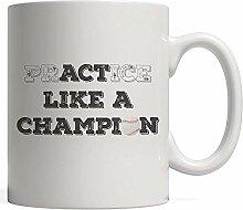 Baseballpraxis oder Benimm dich wie ein Champion!